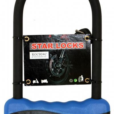 Antivol U Star Lock Acier Ø12mm x 165 x 245mm
