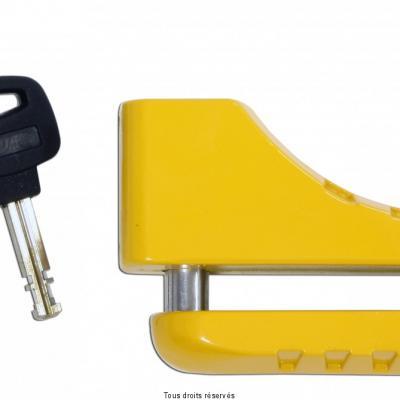 Bloc Disque Star Lock Moto Jaune Ø 10mm
