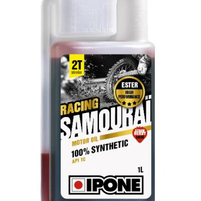 Moteur: HUILE MOTEUR 2T 100% SYNTHESE IPONE SAMOURAI RACING- 1L