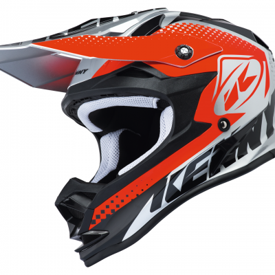 Casque Kenny Motocross Performance Silver Red 2018
