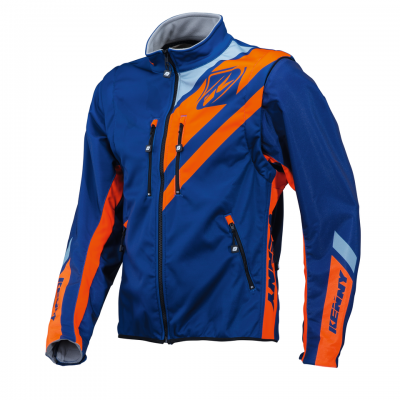 Veste  Softshell enduro Kenny Orange Fluo