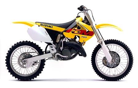 Suzuki rm 125 1996 1997 1998 1999 2000