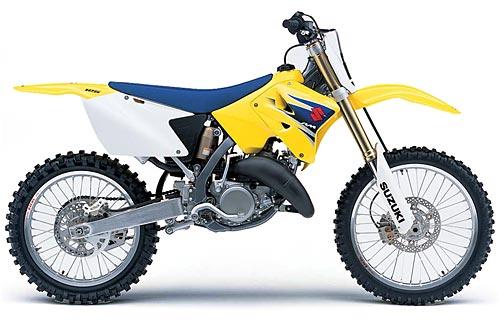 Suzuki rm 125 2001 2002 2003 2004 2005 2006 2007 2008 2009