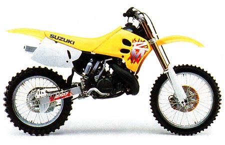 Suzuki rm 250 1993 1994 1995