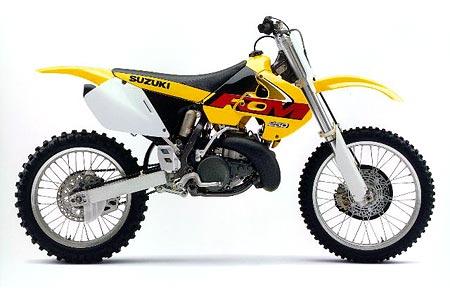 Suzuki rm 250 1996 1997 1999 2000