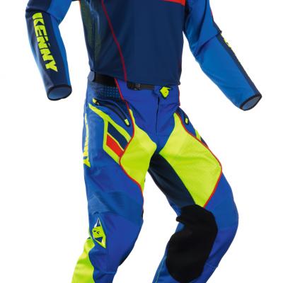 Tenue Motocross Kenny Titanium Cyan 2018