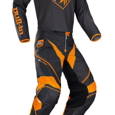 Tenue  Motocross Pull-In Challenger Grey / Orange 2018