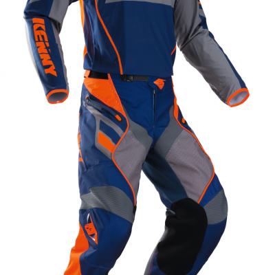 Tenue Motocross Kenny Titanium Navy / Orange 2018