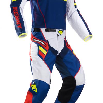 Tenue Motocross Kenny Titanium Navy / Red 2018