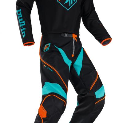 Tenue  Motocross Pull-In Challenger Noir 2018