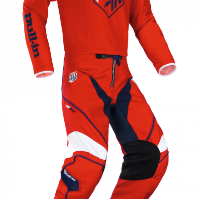 Tenue  Motocross Pull-In Challenger Rouge 2018