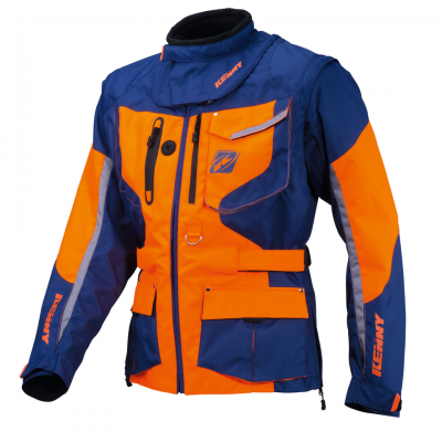Veste Kenny Titanium Orange / Marine
