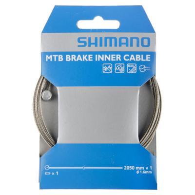 Cable de frein inox 1,6mm Shimano 2050mm