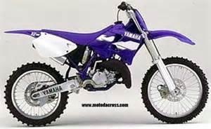 Yamaha yz 125 1998 1999 2000 2001