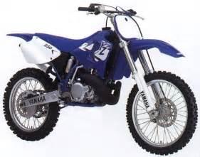 Yamaha yz 250 1997 1998 1999 2000 2002