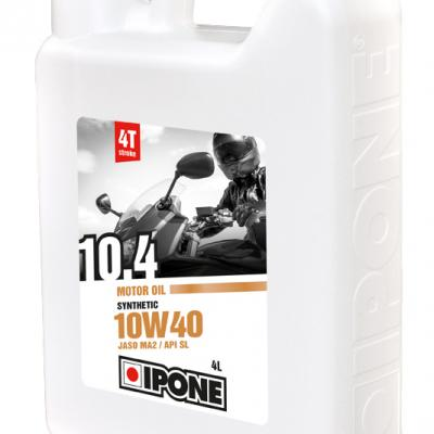 Huile Moteur Moto 4T 10W40 IPONE 10.4 SYNTHETIC - 4L