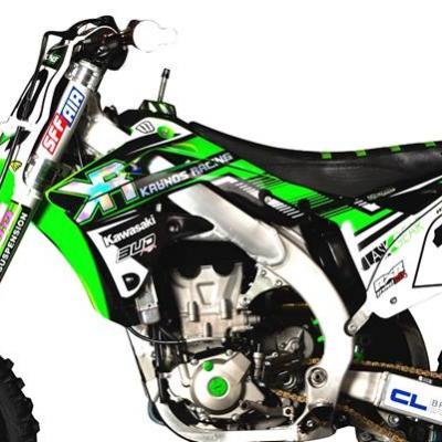 Déco: Kit Déco Kawasaki Replica Team Kaanos 2015