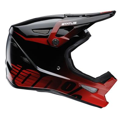 Casque intégral VTT 100% Status D-Day Selecta red