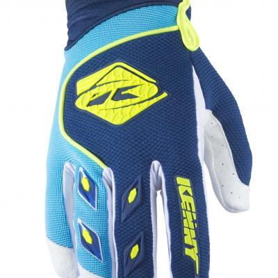 Gants Motocross   KENNY Track Navy / Cyan