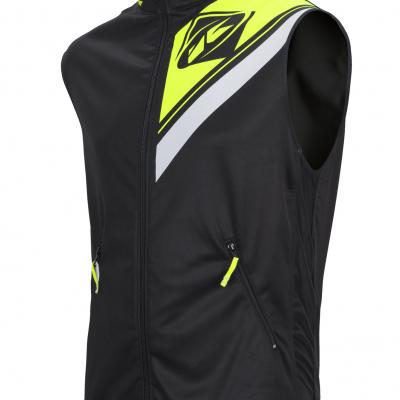 Body Warmer Enduro Kenny Noir / Jaune Fluo