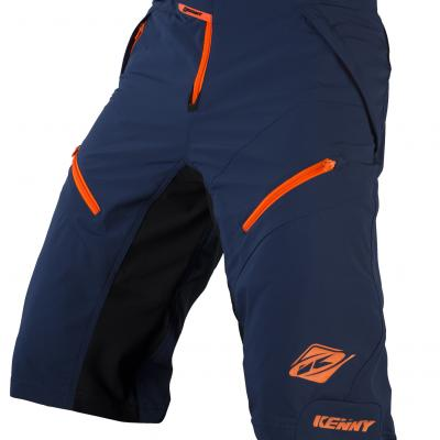 Short VTT Kenny Havoc Bleu / Orange