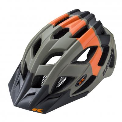 Casque Vélo Kenny K2 Kaki / Orange