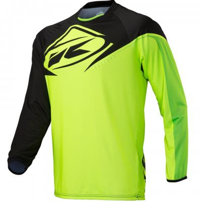 Maillot VTT Kenny Factory Black / Lime