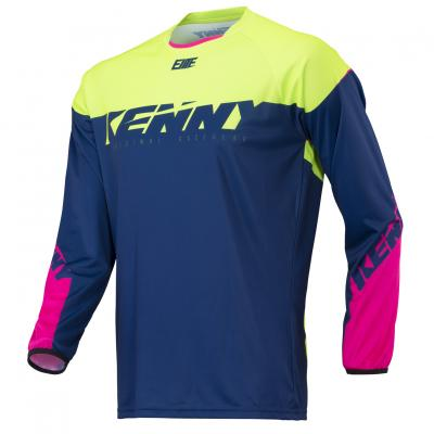 Maillot Kenny BMX Elite Navy / Lime