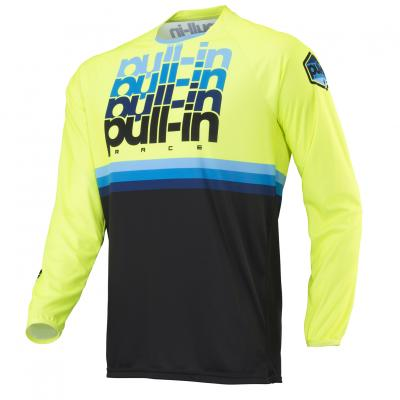 Maillot Pull-In BMX Race 1 Jaune Fluo