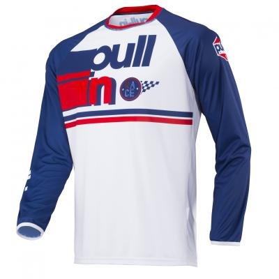 Maillot Pull-In BMX Race 2 Navy - White