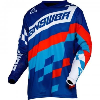 Maillot Motocross ANSWER Arkon Bleu / Rouge / Blanc