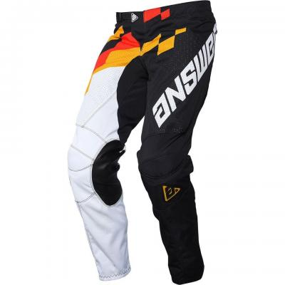 Pantalon Motocross ANSWER Arkon Jaune / Rouge / Noir
