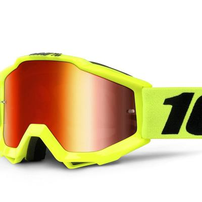 Accuri youth fluo yellow mirror red lens