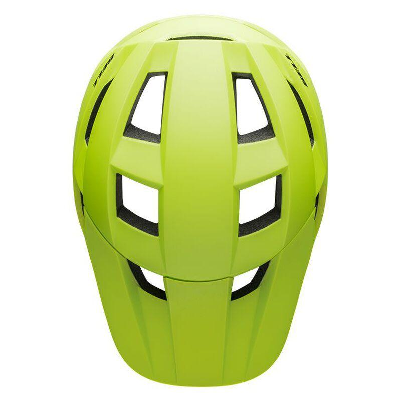 Bell spark mips mountain bike helmet matte bright green black top