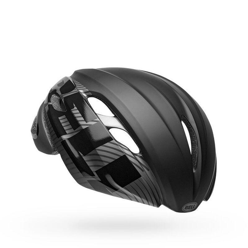 Bell z20 aero mips road bike helmet velocity matte gloss black gunmetal front right