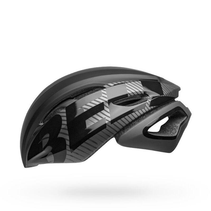Bell z20 aero mips road bike helmet velocity matte gloss black gunmetal left