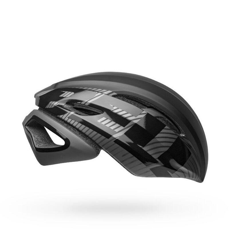 Bell z20 aero mips road bike helmet velocity matte gloss black gunmetal right