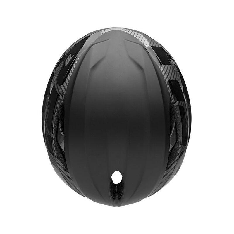Bell z20 aero mips road bike helmet velocity matte gloss black gunmetal top