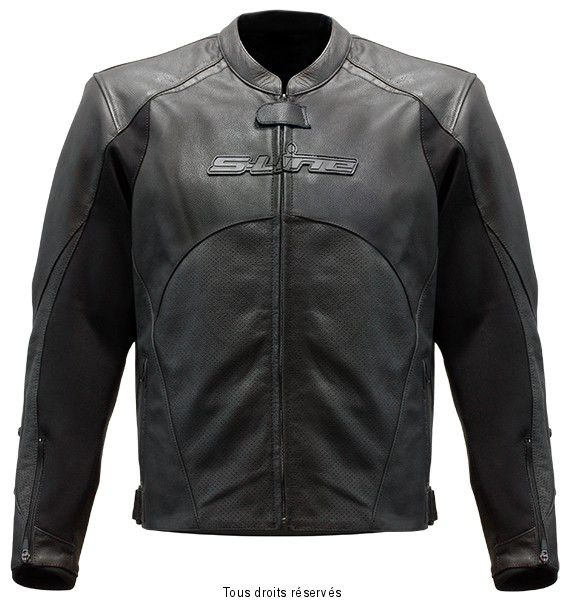 Blouson cuir motard racing black series homme s line
