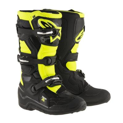Botte tech7 noir jaune