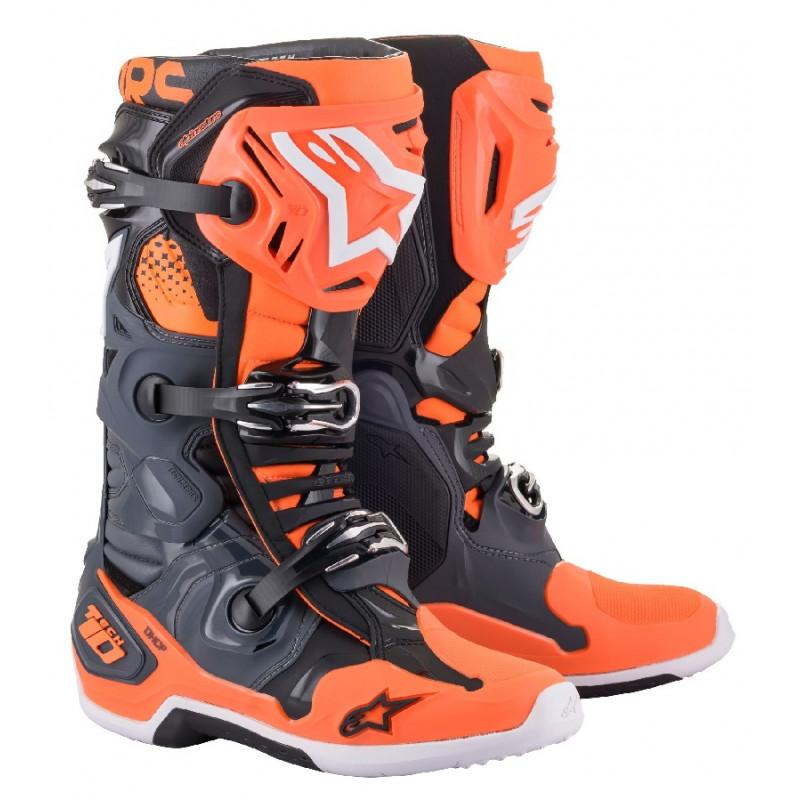 Bottes alpinestars tech 10 orange