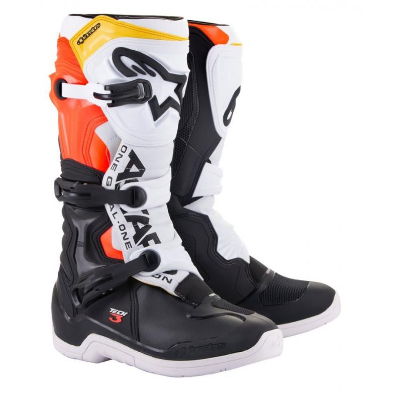 Bottes alpinestars tech 3 orange