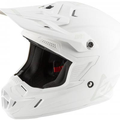 Casque Motocross ANSWER  AR1 Blanc mat