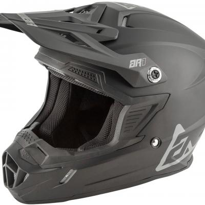 Casque Motocross ANSWER  AR1 Noir Mat