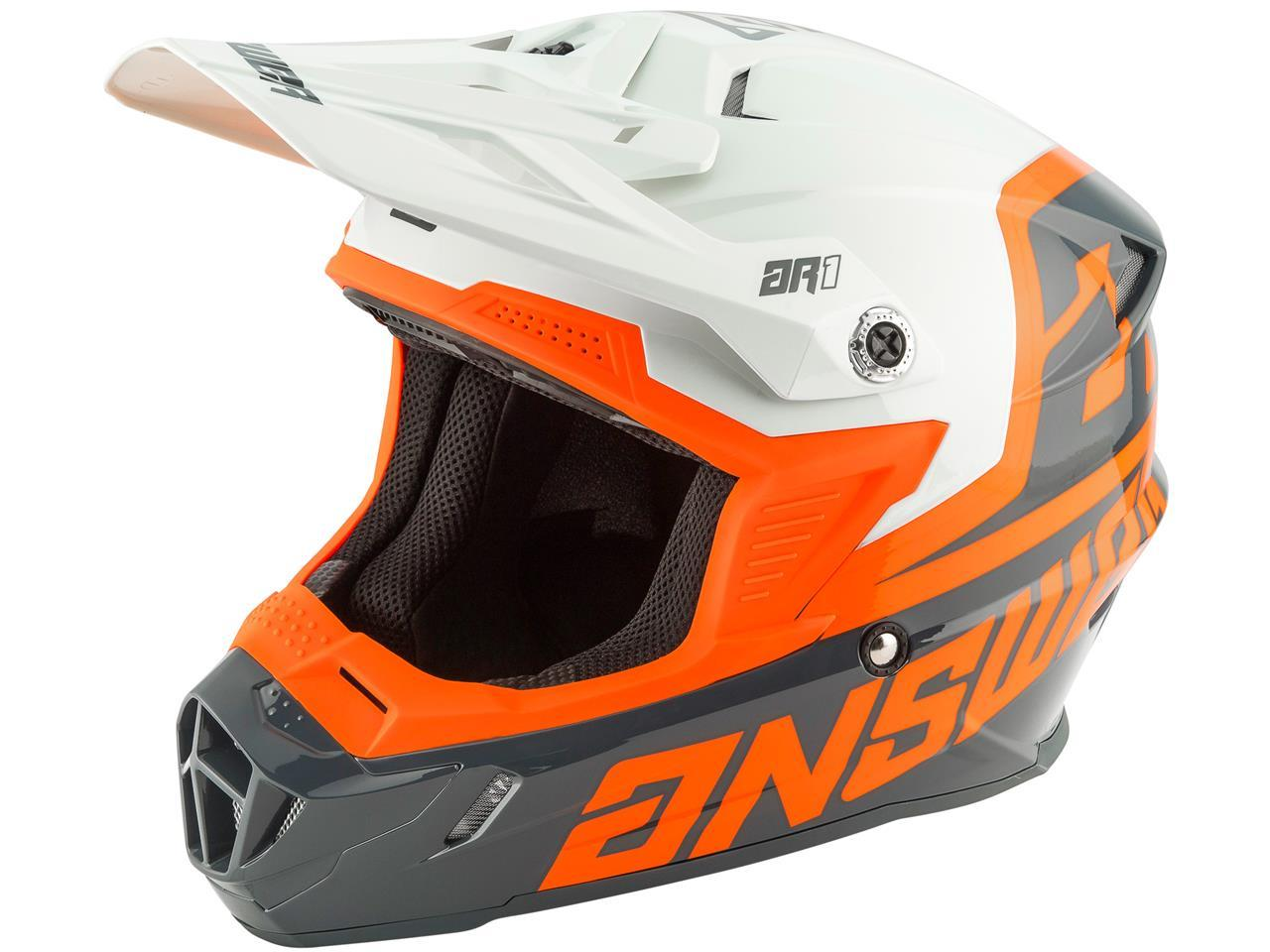 Casque ar1 orange 1