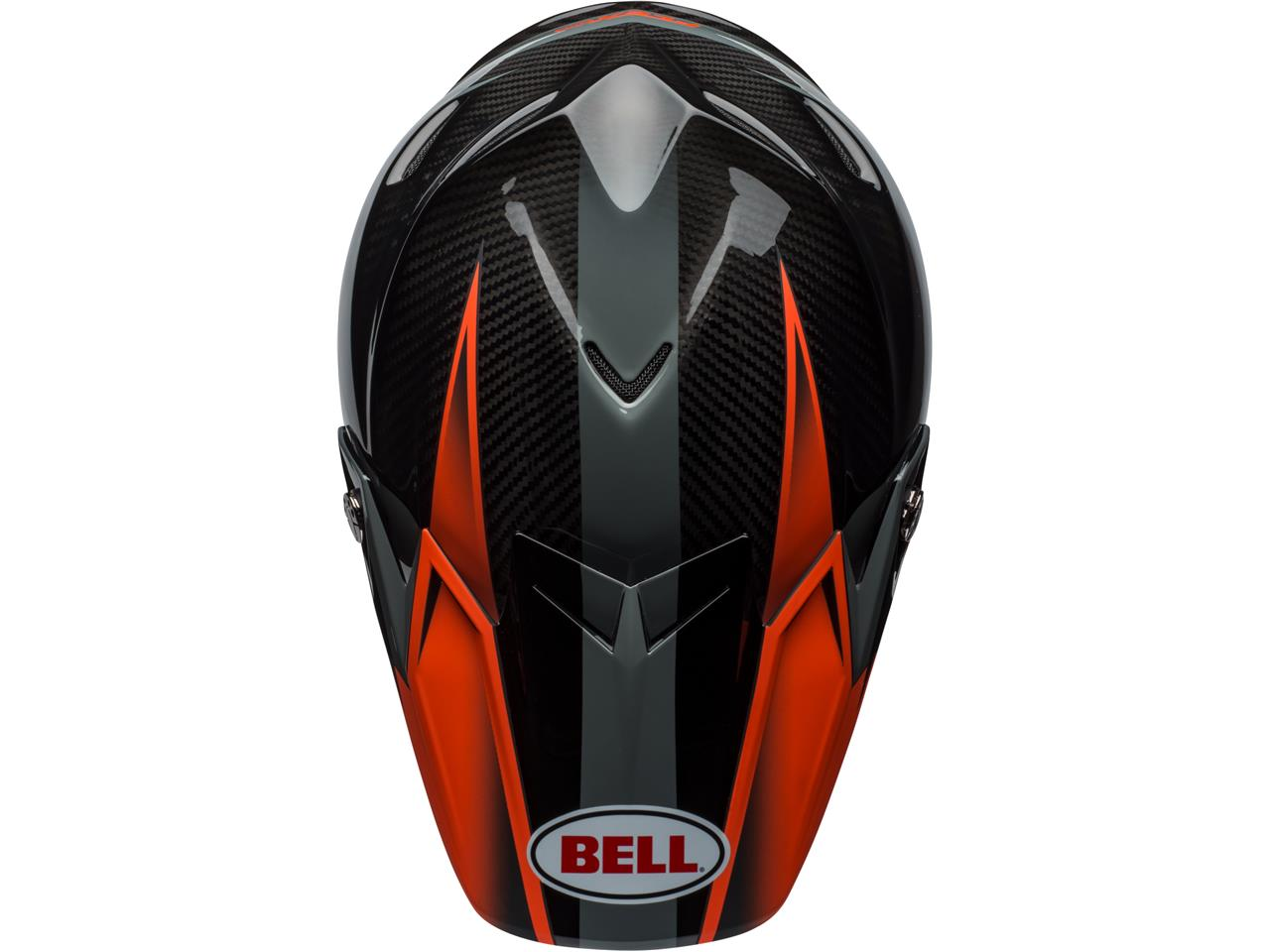 Casque bell moto 9 flex gloss matte orange 4