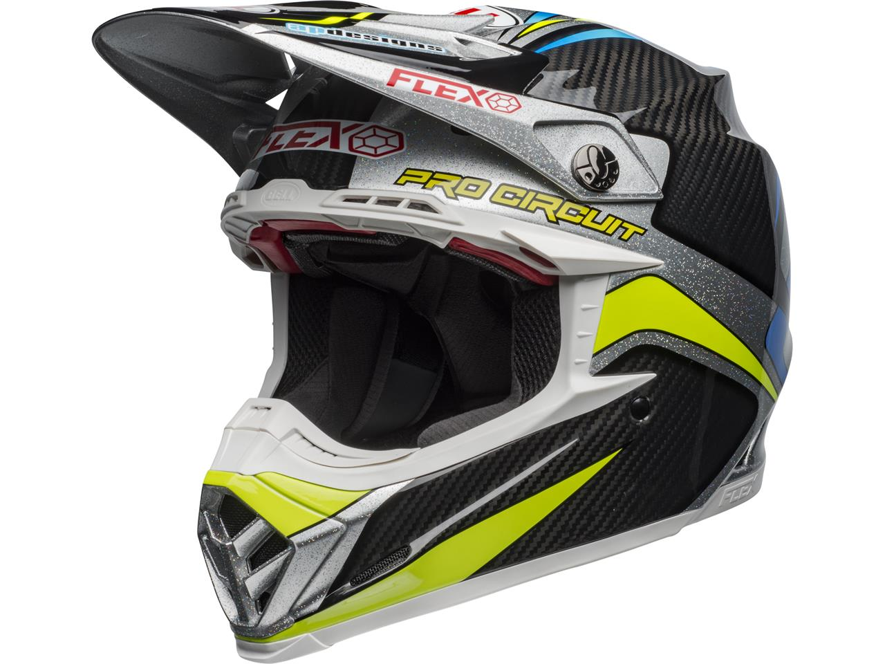 Casque bell moto 9 flex pro circuit replica 1