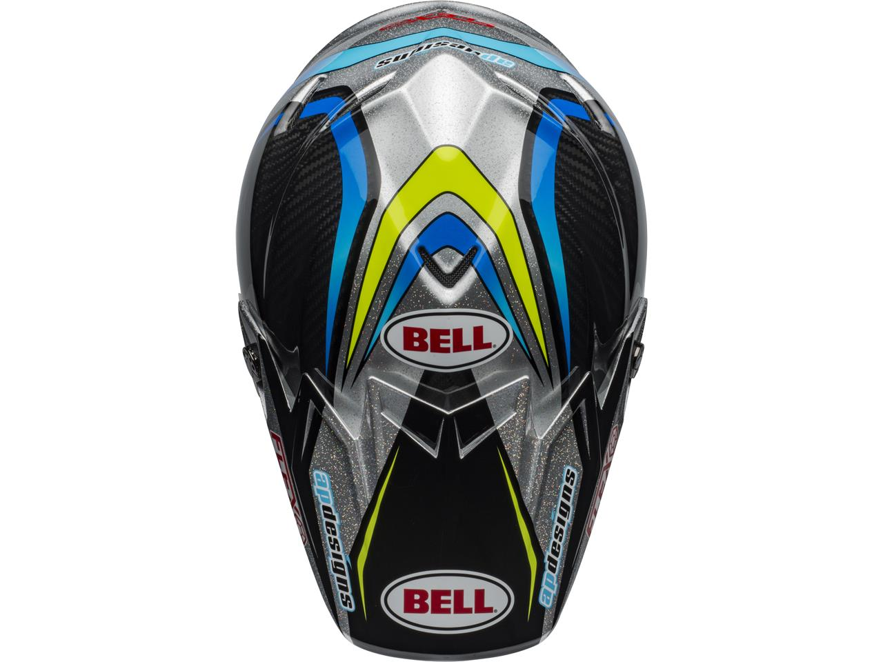 Casque bell moto 9 flex pro circuit replica 2