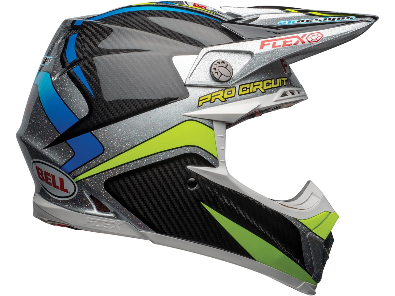 Casque bell moto 9 flex pro circuit replica 3