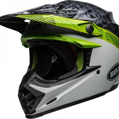 Casque bell moto 9 mips chief matte green 1